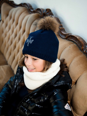 Pipolaki Mini Shiny Girl Bobble Hat