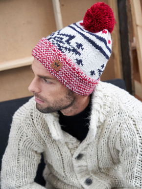 Pipolaki Ulset Men Bobble Hat
