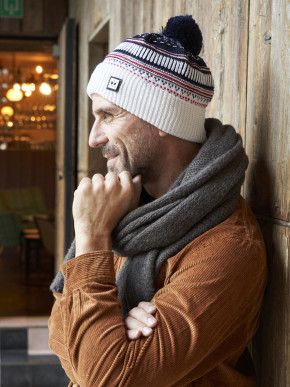 Pipolaki Giani Men Merino wool Bobble Hat