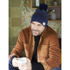 Pipolaki Geilo Men Bobble Hat, full fleece lining