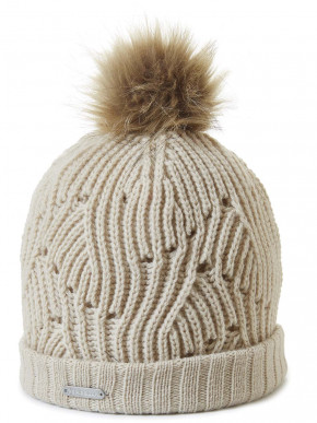 Pipolaki Sarnia Faux Fur Women Bobble Hat
