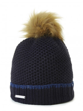 Pipolaki Sievi Faux fur women bobble hat