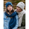 Armel beanie and scarf wool gift box, made in France - Pipolaki