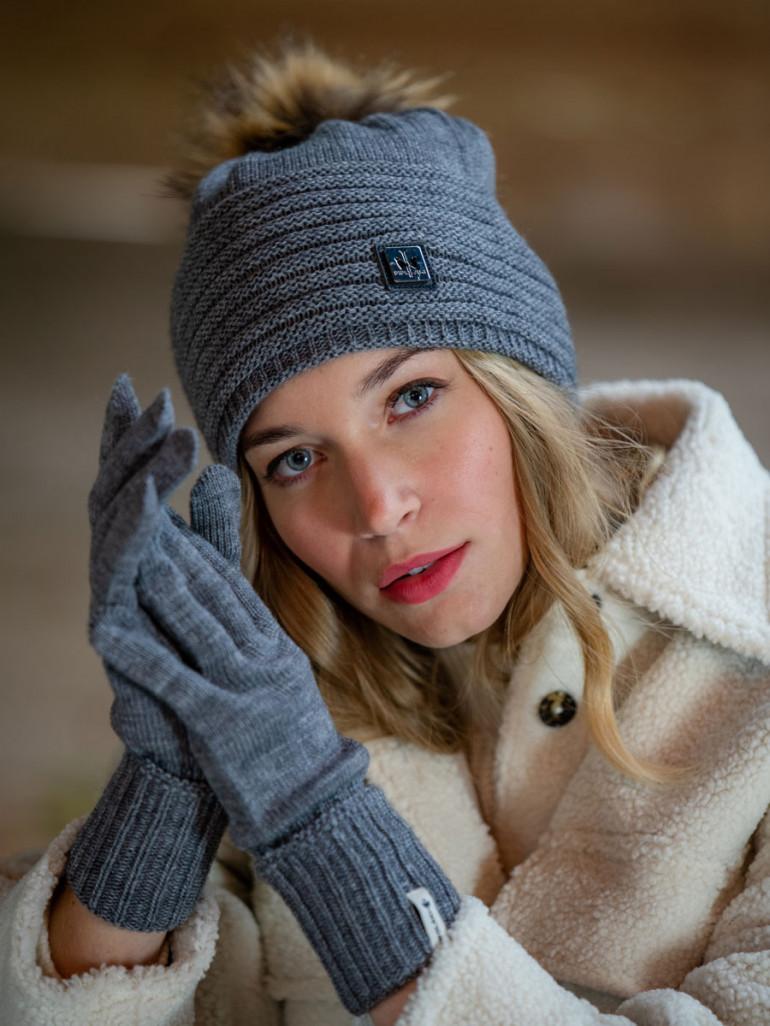 Gants en laine Swan made in France  - Pipolaki
