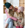 Pipolaki Osted Kids Hat, soft embroidery, warm, full fleece lining