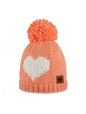 Bobble hat Heart